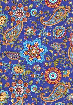 Fortuna - Good Luck Garden -Quilt Fabrics from www.eQuilter.com