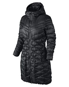 Nike Cascade Hooded Down Parka Womens Coat *** You can get additional details at the image link.  This link participates in Amazon Service LLC Associates Program, a program designed to let participant earn advertising fees by advertising and linking to Amazon.com.