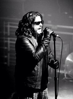 Ian Astbury - lead singer of the Cult, a hazard rocking British band that peaked in the latter eighties but is still recording and performing.