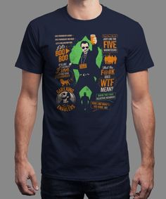 """""""Mint"""" is today's £8/€10/$12 tee for 24 hours only on www.Qwertee.com Pin this for a chance to win a FREE TEE this weekend. Follow us on pinterest.com/qwertee for a second! Thanks:)"""