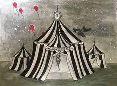 Night Circus fan art by Rachel Herondale