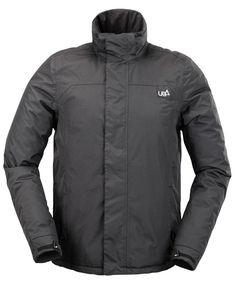 Mens Arkan Raven Dark Grey Soft Shell Ski   Snow Jacket  773352e39