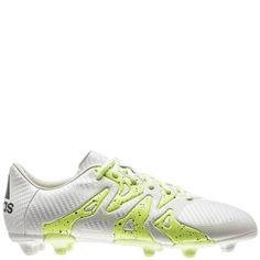 adidas X Chaos Low 15.3 FG AG White Yellow Night Metallic Women s Soccer fd3f6b072c5b