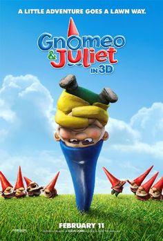 """Fomos todos ver """"Gnomeu e Julieta"""". O Leo aprovou. Eu achei médio. Valem as músicas do produtor executivo do filme: Elton John. Infelizmente é mais um daqueles 3D engana trouxa. No caso, o papai que tem que pagar o ingresso..."""