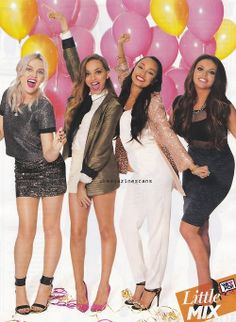 Little Mix, they couldn't be prettier <<< They really couldn't be.