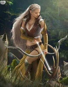 23 Ideas for fantasy art elf warrior swords Fantasy Warrior, Fantasy Girl, Warrior Girl, Fantasy Women, Elf Warrior, Warrior Women, Elfa, Fantasy Artwork, Character Portraits