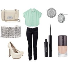 """classy casual"" by alitee123 on Polyvore"