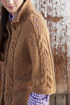 Ravelry: Market Jacket pattern by Tanis Gray