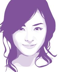 Lee Yeon Hee vector portrait by ~uyuy on deviantART