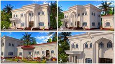 Summer Fouad Egyptian Architect: white stoned villa