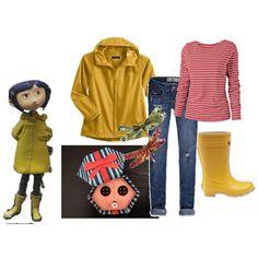 """Coraline Costume"" for halloween"