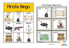 Don't miss out on this fun Pirate bingo card printable for kids! It's a great way to have some family-friendly fun for FREE! #BINGO #freebingogame #pirateprintable #earlylearning #familygames Pirate Activities, Fun Activities For Toddlers, Bingo Set, Bingo Games, Family Game Night, Family Games, Pirate Coloring Pages, Bingo Dabber, Pirate Adventure