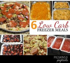 Low Carb Freezer Cooking + Mother's Day Gift