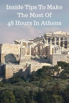 Make the most of your visit to Athens, Greece with these inside tips.