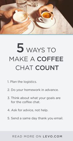 A coffee chat can be a HUGE opportunity. Finding A New Job, Looking For A Job, Career Advice, Interview Advice, Career Development, Professional Development, Professional Networking, Business Correspondence, Sales Tips