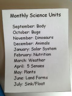 Setting up a science center.pick themes to cover throughout the year. Setting up a science center.pick themes to cover throughout the year. Preschool Lesson Plans, Preschool At Home, Preschool Curriculum, Preschool Science, Science Classroom, Teaching Science, Science For Kids, Science Activities, Teaching Kids