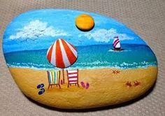 Sahilde uygun boyutta taşları bulup onları dilediğiniz şekilde boyamanız mü...