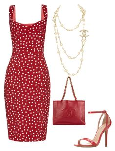 """Untitled #617"" by mchlap on Polyvore featuring Dolce&Gabbana, Charlotte Russe and Chanel"
