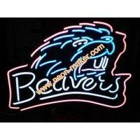 Beavers Neon Sign