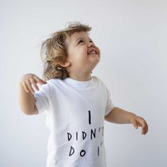 I Didn't Do It T-Shirt | Kidult and Co | Signature Range | www.kidultand.co