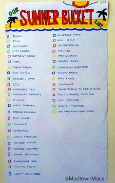 summer bucket list @Katie Oen, @Leah Fry, @Kristi Borchers-- we should do this!