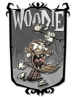 Woodie   Don't Starve Together Character Portraits