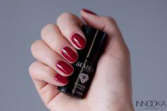 semilac classic wine 028 Manicure, Nails, Nail Polish, Lipstick, Wine, Classic, Makeup, Beauty, Nail Bar