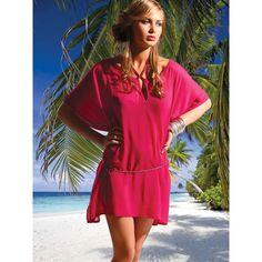 beach wear | Beachwear | Beachwear For Women | Beachwear Dresses | Pink Beachwear ...