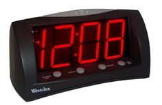 Extra Large Display Alarm Clock