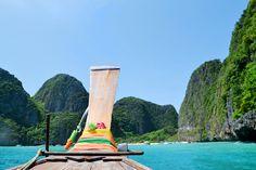 Maya Bay Beach near Kho Phi Phi Islands