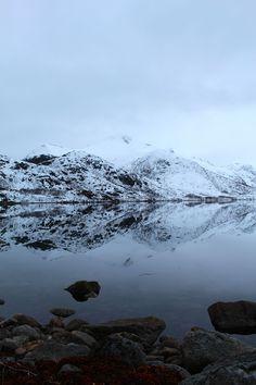 Gorgeous Lofoten reflections.