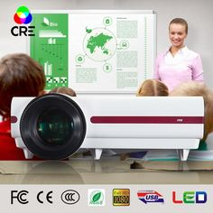 319.99$  Buy here - http://alie1t.worldwells.pw/go.php?t=32763891788 - Fast Shipping Education Classroom Teaching Church Office Meeting Home Video Projector high brightness Remote Control Projector