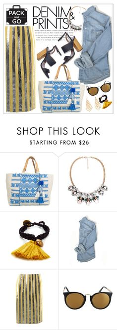 """""""Pack and Go: Mexico City"""" by teoecar ❤ liked on Polyvore featuring Star Mela and Prada"""