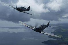 Supermarine Spitfire Mk V & Hawker Hurricane Mk II (FOHS76.06)