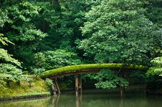 One of the most beautiful bridges ever.  Katsura Imperial Villa, Kyoto, Japan