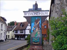 Wymondham, Norfolk, Went to High School at the boarding school of Wymondham College, (pronounced Windham) Norwich Cathedral, Cathedral City, Suffolk England, Norwich Norfolk, Great Yarmouth, English Village, Uk Photos, British Isles, Countryside