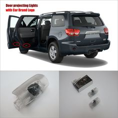 For Toyota Sequoia 20102014 Door Ghost Shadow Lig  Price: $19.21  Buy From AliExpress:http://5.gp/mz4r