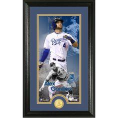 promo code 1d923 169e8 Alex Gordon Kansas City Royals Youth Official Cool Base ...