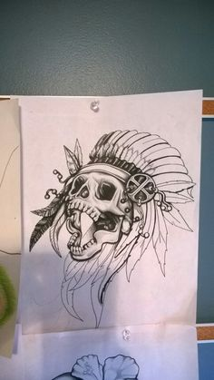 Native American Skull #Heritage