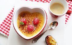 Crème brûlèe med pasjonsfrukt