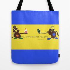 Don't let go Tote Bag by Megan Spencer - $22.00
