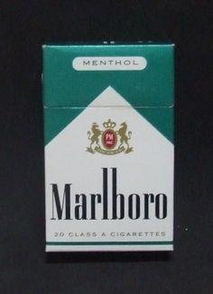 Embalagem de Marlboro Menthol
