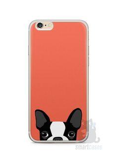 Capa Iphone 6/S Plus Cachorro Bulldog Francês #1 - SmartCases - Acessórios para celulares e tablets :)