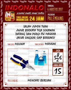 Mimpi 6D Togel Wap Online Indonalo Palembang 6 Agustus 2017