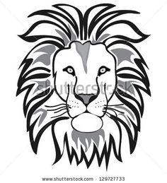 cartoon lion and black on pinterest