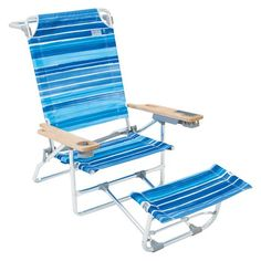 Superbe Reclining #BeachChair With #Footrest 2017: User #Review · Beach Chair With  Umbrella Folding ...