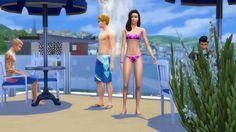 New party member! Tags: beach pool selfie swimming sims the sims sim ts4 ts3 ts2 simmer simming ts1