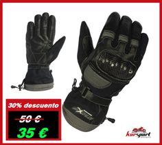 Guantes moto piel y cordura #accesorioscoches #accesoriosmotos #kursport #chaquetasmoto #motorista #baulesmoto #retrostyle #fashion #gloves #guantesmoto #guantesdecuero #nice #motorbike #motorstyle #black.