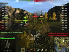 World of tanks Tiger II + Is3 Platoon Fjords Gameplay