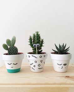 A imagem pode conter: 1 pessoa, planta, ar livre e natureza Cacman and TusGirl We are the cactus family 🌵 spreading Love is Our mission💞 Sharing our story as comics to let you know that true love exists❤️ Painted Plant Pots, Painted Flower Pots, Cactus Art, Cactus Flower, Indoor Cactus Plants, Cacti, Mini Toile, Decorated Flower Pots, Flower Pot Crafts